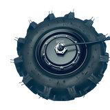"""Quinder brushless Radnabenmotor 16"""" 48V 550Watt mit DC Kontroller und Gas_"""