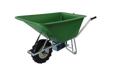 Elektrische kruiwagen voor de stal of boerderij