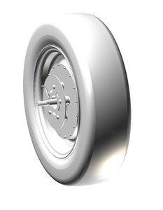 Quinder Radnabenmotor 60V 2.100Watt mit 700R16 Reifen 10km/h